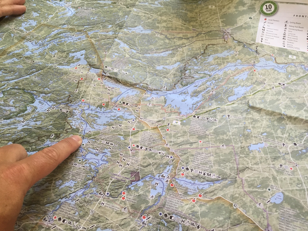 Image of a map.