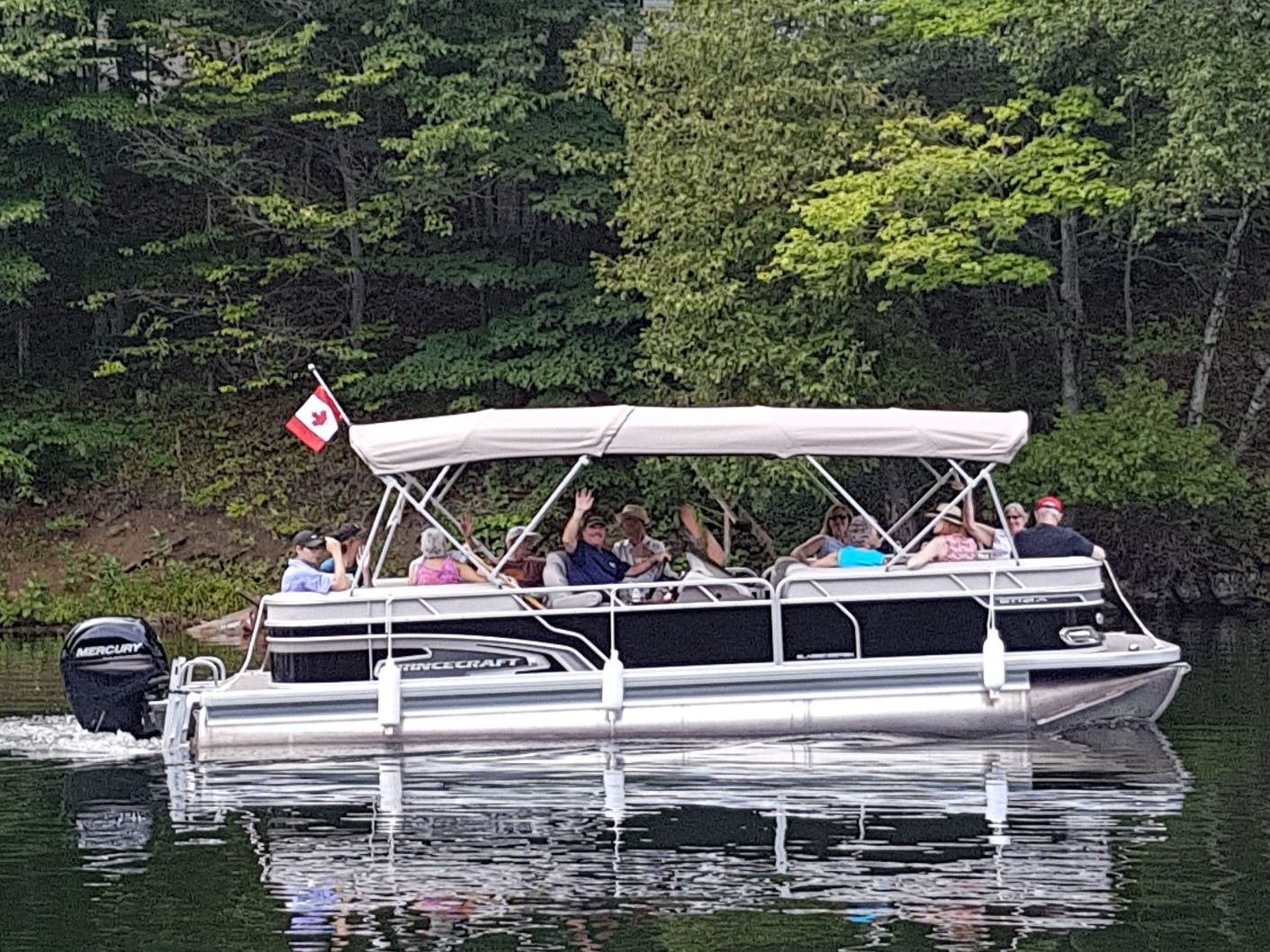 Image of people on a boat.